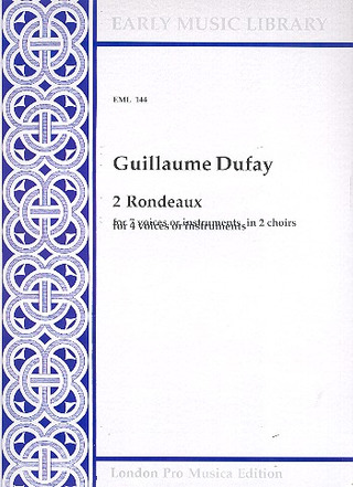 Dufay Guillaume: 2 Rondeaux