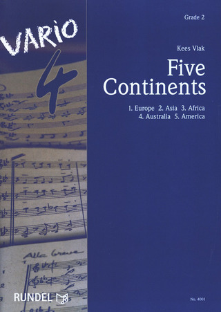 Kees Vlak: Five Continents
