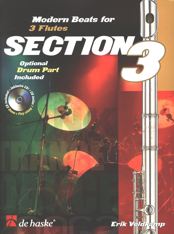 Erik Veldkamp: Section 3 - Modern Beats For 3 Flutes