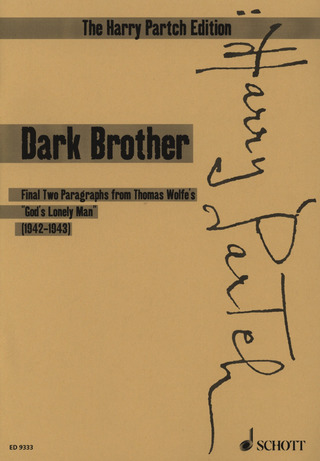 Harry Partch: Dark Brother