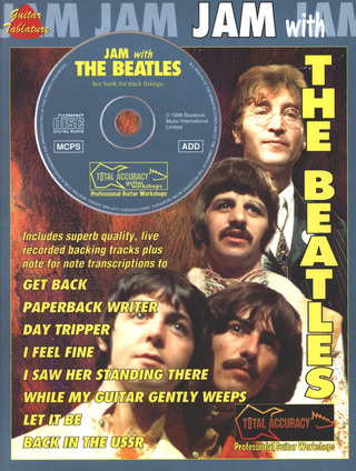 The Beatles: Jam With The Beatles Tab Bk/Cd