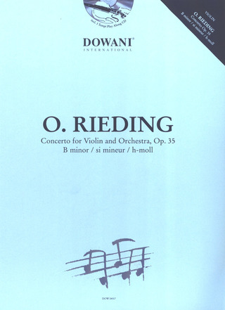 Oskar Rieding: Concerto B minor for Violin and Orchestra op. 35