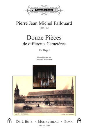 Fallouard Pierre Jean Michel: 12 Pieces De Differents Caracteres