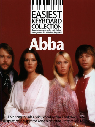 ABBA: Easiest Keyboard Collection Abba