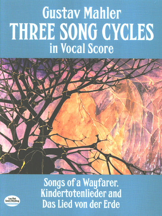 Gustav Mahler: Mahler Three Song Cycles In Vocal Score