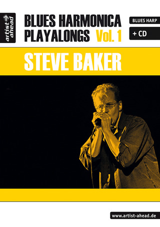 Baker Steve: Blues Harmonica Playalongs 1