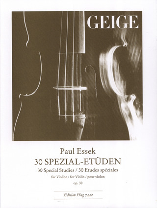 Essek, Paul: 30 Spezial-Etüden