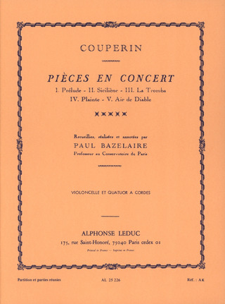 François Couperin: Pieces en concert