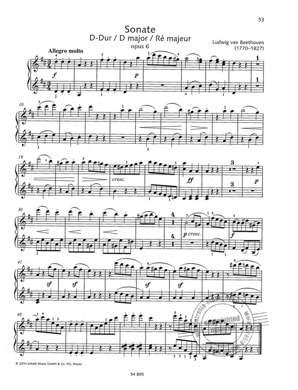 Piano Duets (6)