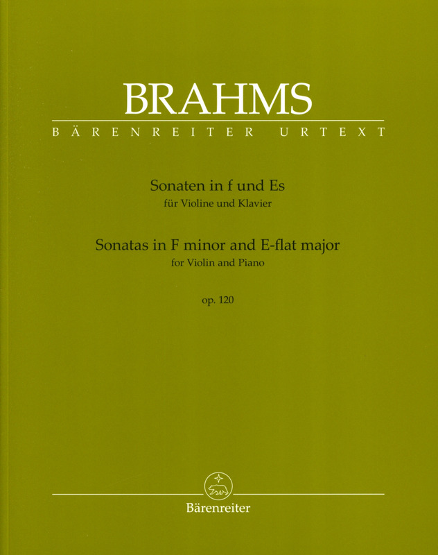 Johannes Brahms: Sonatas in F minor and E-flat major