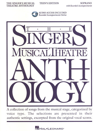 The Singers Musical Theatre Anthology – Teens Edtion