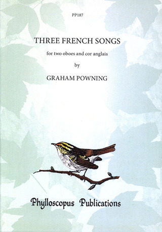 Powning Graham: 3 French Songs