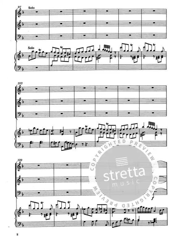 Orgelkonzert Bach