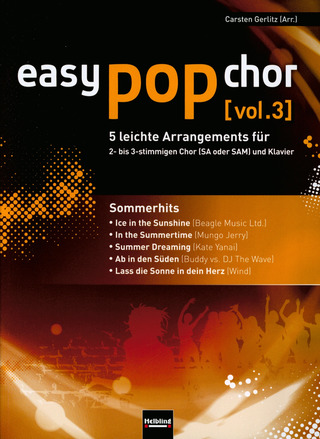 easy pop chor 3: Sommerhits