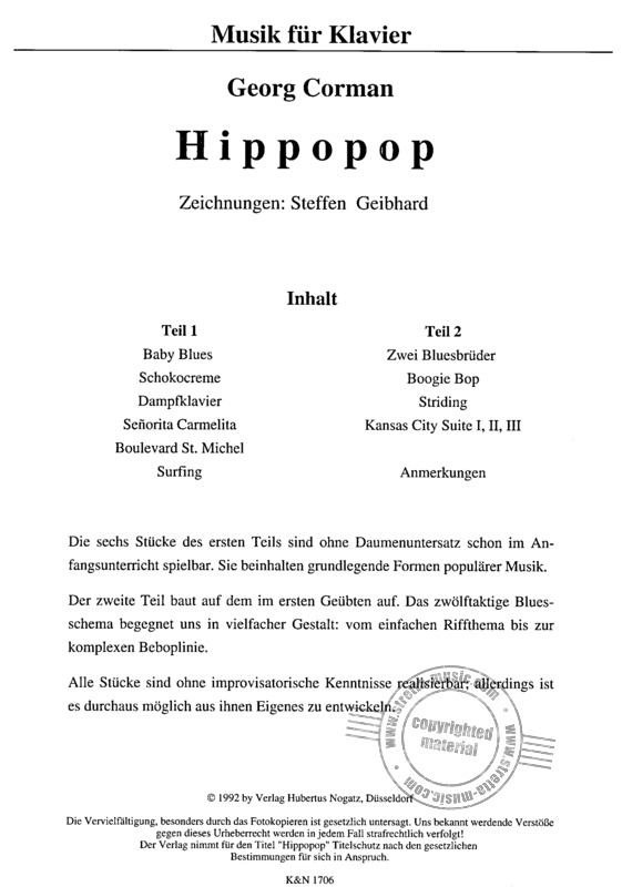 Corman Georg: Hippo Pop (1)