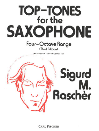 Sigurd Rascher: Top-Tones for the Saxophone