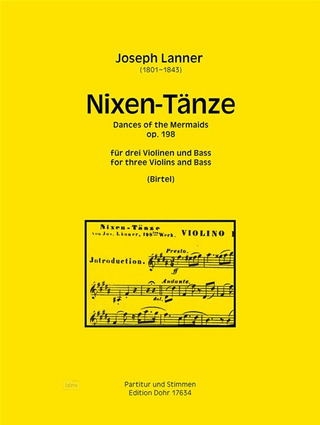 Joseph Lanner: Dances of the Mermaids op. 198