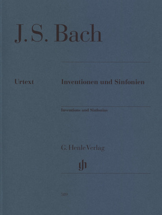 Johann Sebastian Bach: Inventions and Sinfonias BWV 772-801