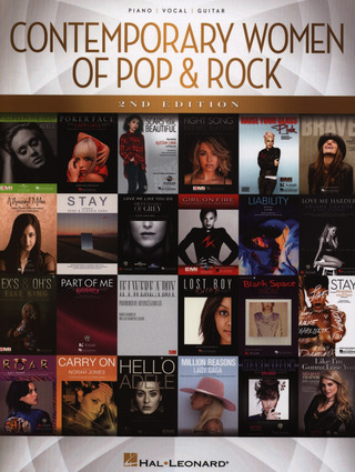 Contemporary Women of Pop & Rock – 2nd Edition