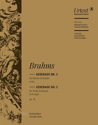 Johannes Brahms: Serenade in A major Op. 16/2