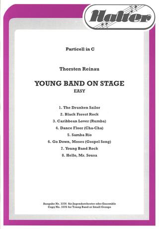 Young Band On Stage