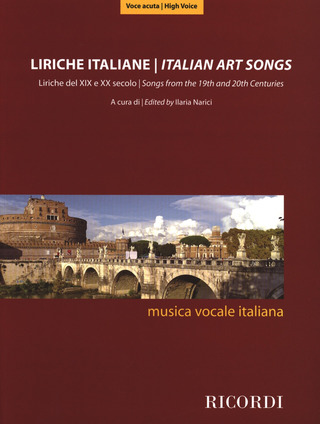 Italian Art Songs from the 19th and 20th Centuries