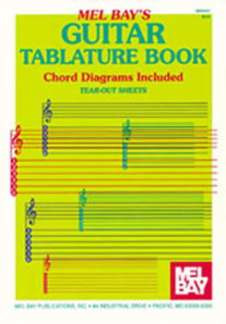 Notenblock Guitar Tablature Book