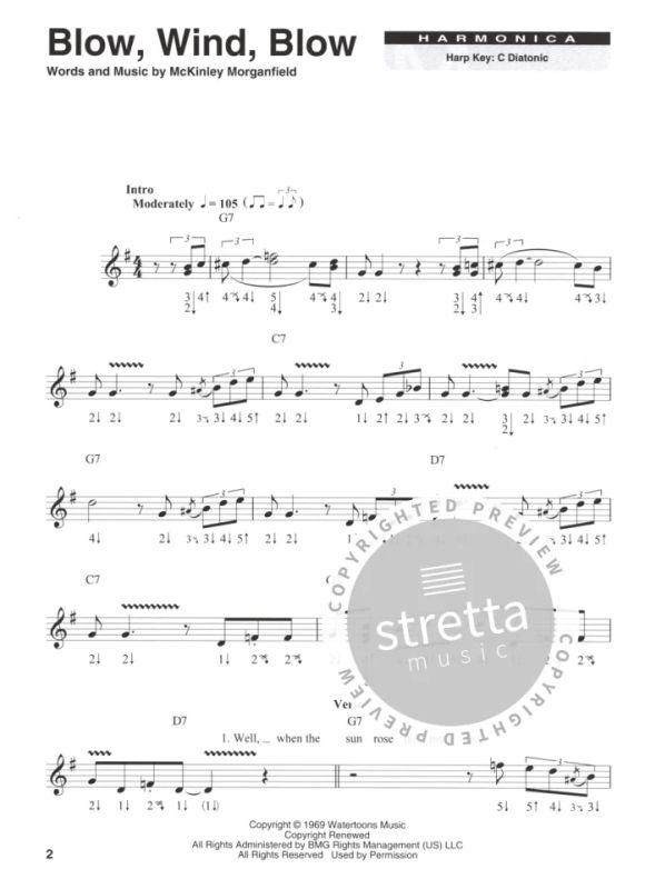 Harmonica Play-Along Volume 17: Muddy Waters (Book/Online