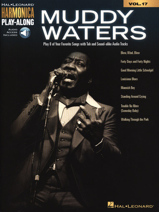 Muddy Waters: Harmonica Play-Along Volume 17: Muddy Waters (Book/Online Audio)