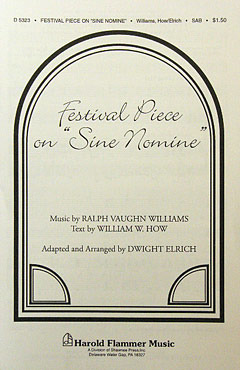 Ralph Vaughan Williams: Festival Piece On Sinemine