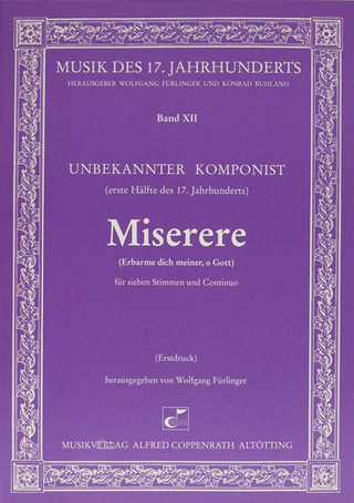 Anonymus: Miserere