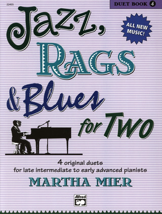 Martha Mier: Jazz Rags & Blues for Two 4