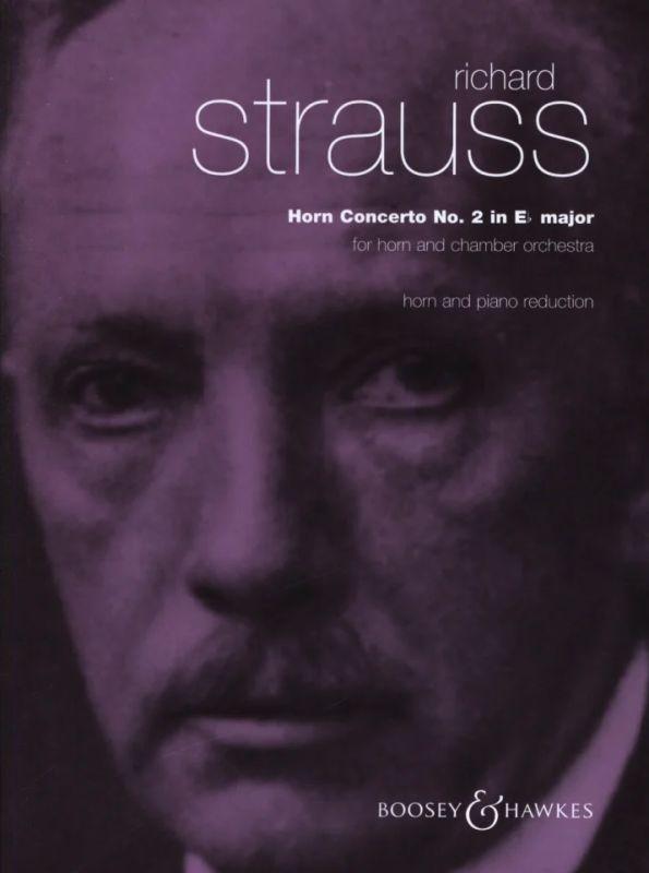Op Horn Concerto No AV 132 Strauss Richard piano reduc 2 in E Flat Major o