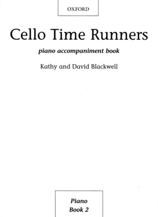 David Blackwell et al.: Cello Time Runners Piano Accompaniment