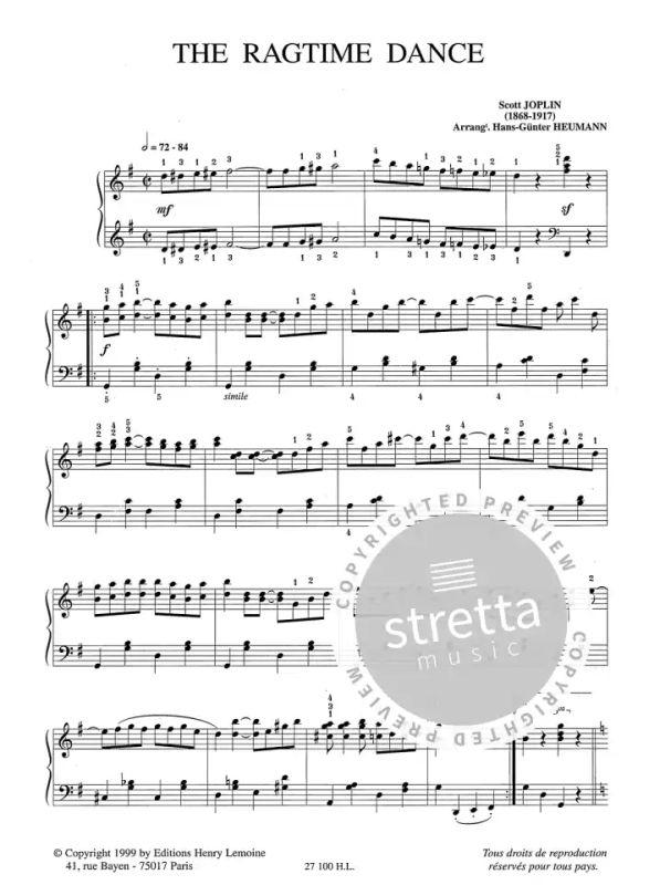 Scott joplin famous ragtime dance