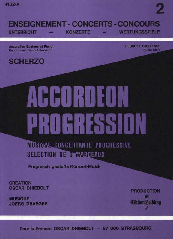 Jörg Draeger: Scherzo - Accordeon Progression 2 Bd 6 (0)