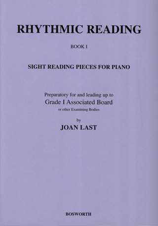 Last Joan: Rhythmic Reading, Sight Reading Pieces Book 1 Grade 1