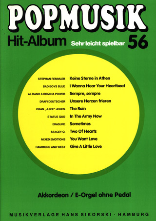 Popmusik Hit-Album 56