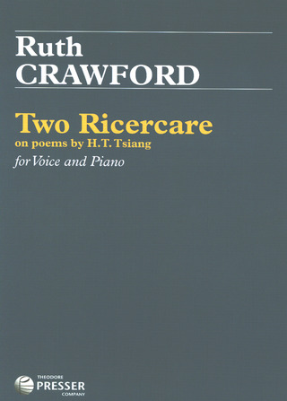 Ruth Crawford: Two Ricercare