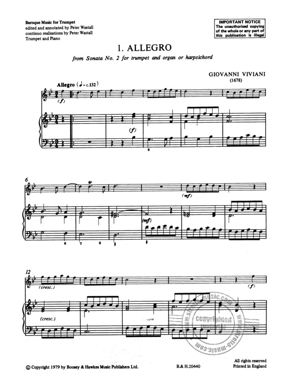 Baroque Music for Trumpet (3)