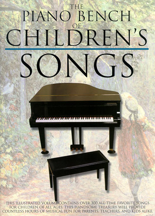 Piano Bench Of Childrens' Songs