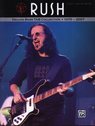 Rush: Deluxe Bass Tab Collection - 1975-2007
