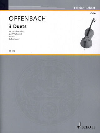 Jacques Offenbach: 3 Duets op. 51