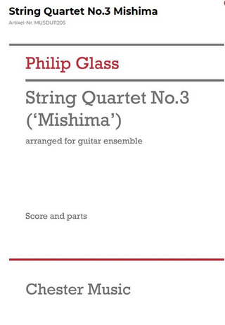 Philip Glass: String Quartet 3