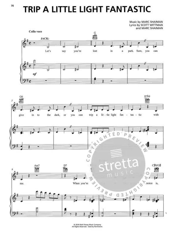 Völlig unverfroren Songbook Noten Klavier Gitarre Gesang Frozen Die Eiskönigin