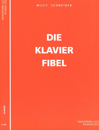 Willy Schneider: Die Klavier-Fibel op. 59
