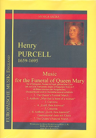 Henry Purcell: Music For The Funeral Of Queen Mary