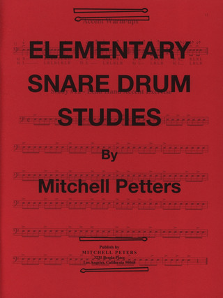 Mitchell Peters: Elementary Snare Drum Studies