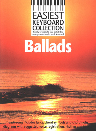 Easiest Keyboard Collection Ballads MLC