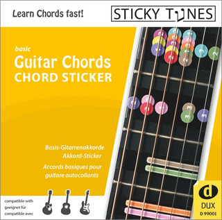 Sticky Tunes: Guitar Chords Chord Sticker